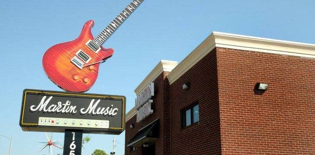New Dealer: Martin Music Guitar